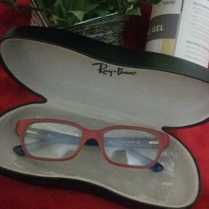 Boys  petite Ray Ban prescription glasses